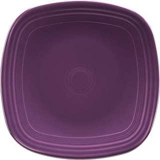Fiesta Square Dinner Plate - Mulberry Purple