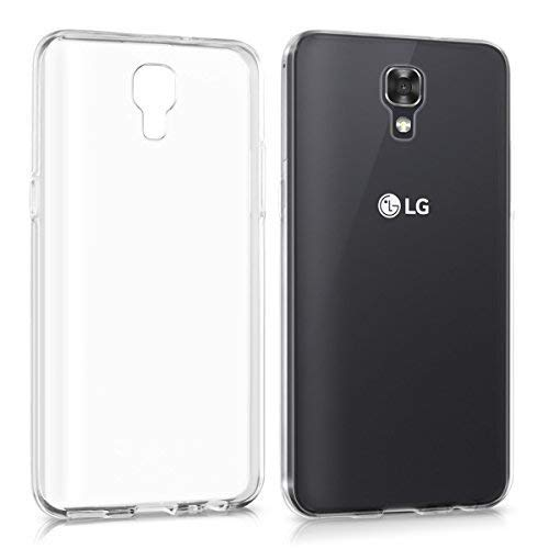 FCS Premium Clear Soft Silicon Transparent Back Case Cover for LG X Screen