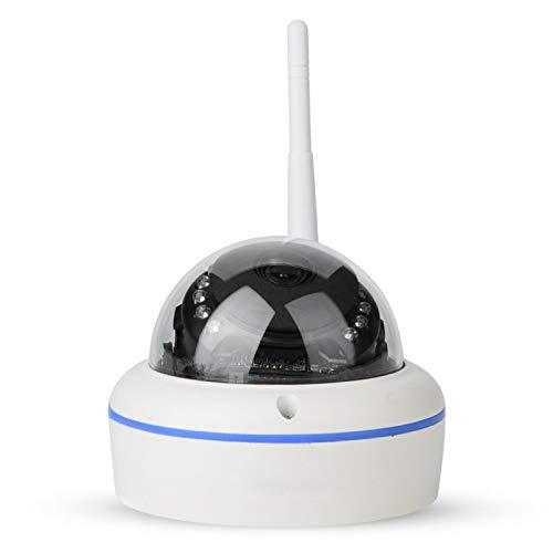 Tomanbery Vigilancia de cámara de Seguridad Inteligente con Video HD WiFi a Prueba de Lluvia para el hogar y el jardín(European regulations)