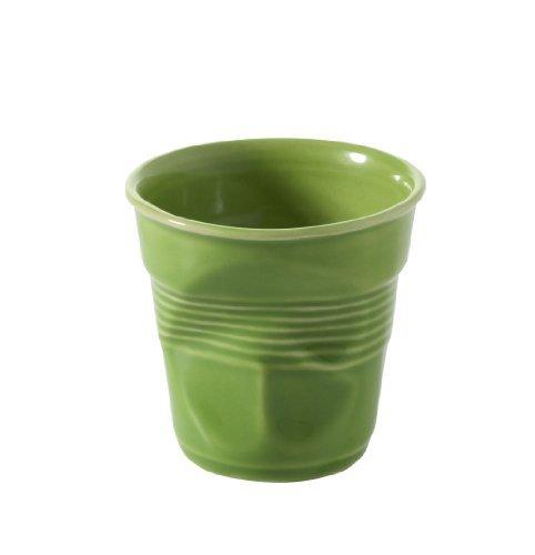Gobelet froissé Espresso Revol 640645 Tasses, Citron vert en Revol