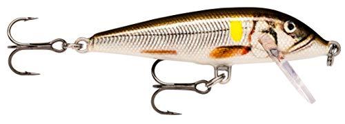 Set 9,5 cm Colorido del Anzuelo Minnow Fish se/ñuelo Salm/ón Trucha Bass Cebo Artificial Aparejos de Pesca del se/ñuelo del Gancho Techting 10PCS