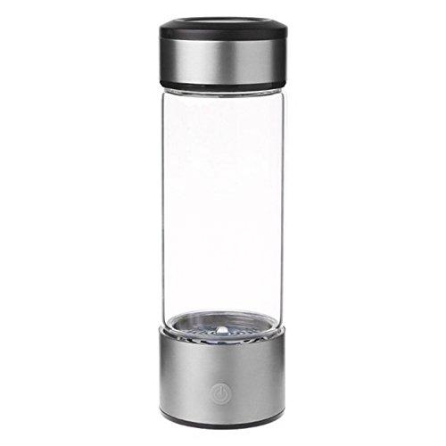 RETYLY 400-500ML Portable Wasserstoff Rich Water Maker Ionisator Generator Flasche Tasse Gerade
