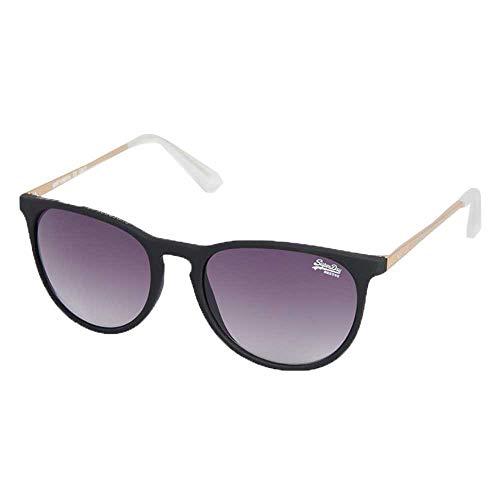 Superdry Damen ELLEN Sonnenbrille, Rubberised Black/Gold, OS
