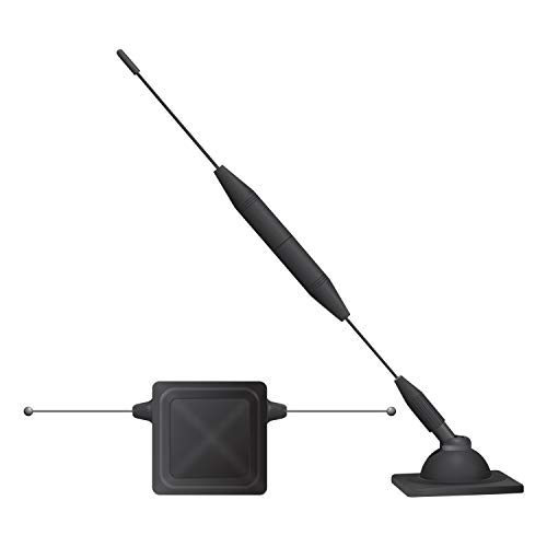 Cell Phone Signal Booster Antenna Compatible for Verizon AT&T Tmobile Sprint. Truck and Car Mount Passive Repeater Antenna 4G LTE for Samsung Apple iPhone LG Motorola Smart Phones by Cellet