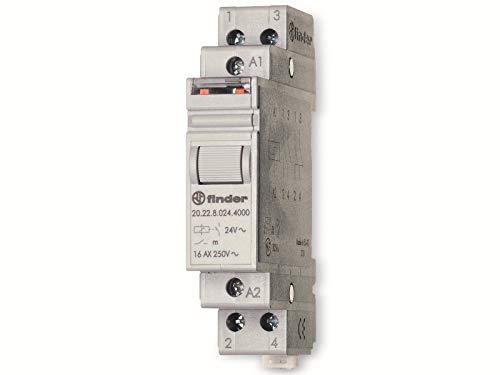 finder SERIE 20 Stromstossschalter 2S 16A 24VDC