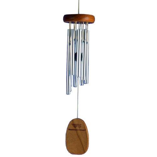 Woodstock Windspiel Gregorian Chime, Silber, 33,0 cm
