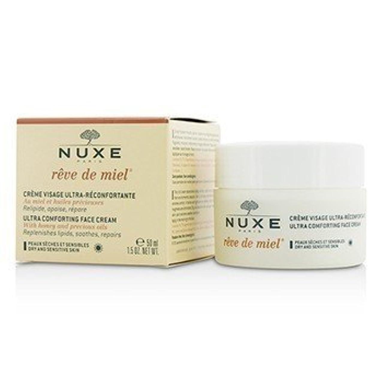 スリップシューズどちらか塩辛いReve De Miel Ultra Comfortable Face Cream[並行輸入品]