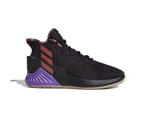 adidas D Rose 9 - Zapatillas de baloncesto para hombre, color negro, Negro (Negro ), 44 EU