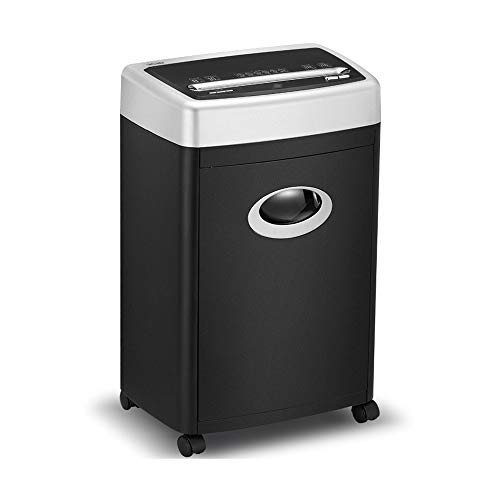 Find Bargain LEFJDNGB Large Capacity File Shredder for Office,8-Sheet Cross-Cut Paper/Credit Card Sh...