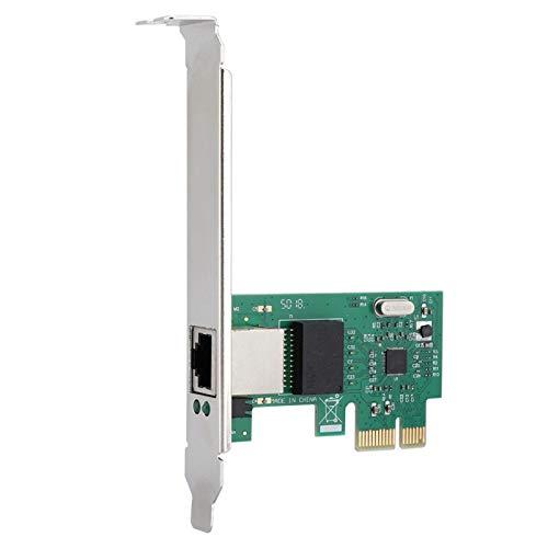 Germerse Desktop-Adapter PCI-E RTL8111E Chip-Controller-Prozessor Desktop-Netzwerkkarte Internet Cafe-Datenserver zur Überwachung von Office