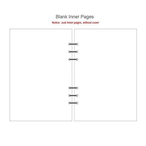 HBNNBV Diario Creative A5 A6 A7 Página de índice de Colores Página de índice de Cuaderno Mate Funda Espiral Diario Planificador Papel Categoría Categoría Paginas Papelería Suave Forrado