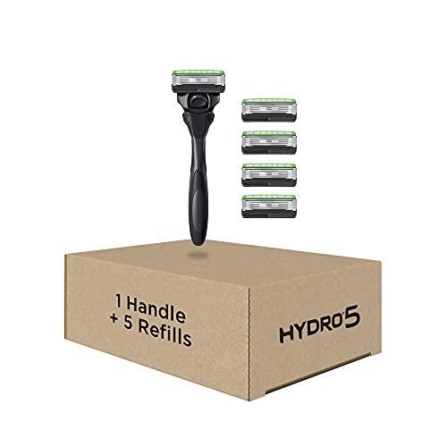 Schick Hydro Skin Comfort Sensitive 5 Blade Razor for Men, 1 Handle...