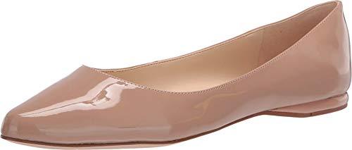 NINE WEST Bailarinas para mujer, beige (Color piel (nude)), 35.5 EU