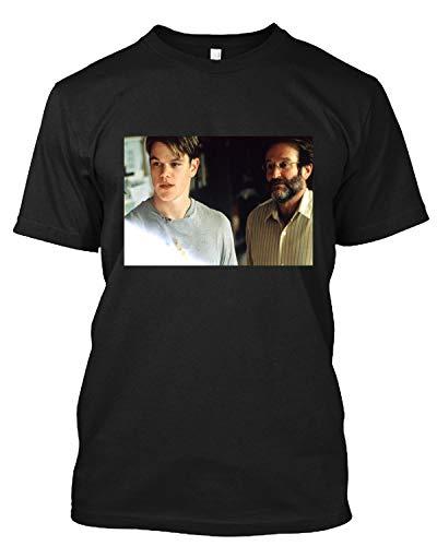 #Matt Damon'S Poster Film #Goodwill Hunting Tee T-Shirt for Men Women Black