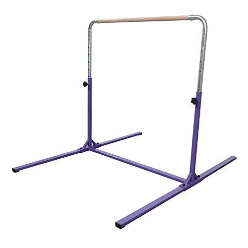 Product Image of the Tumbl Trak Gymnastics Adjustable Height Horizontal Training Home Jr Kip Bar,...