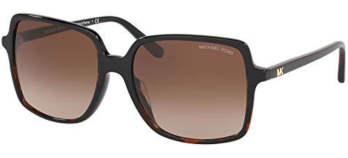 Michael Kors MK2098U 378113 Brown Tortoise Isle Of Palms Square Sunglasses Lens, Db127.18 New New Tort, 56/17/140