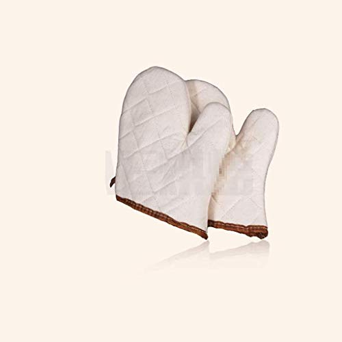 ZFZ Handschuh, Handschuhe, Handschuh, Backen Isolierung Handschuhe Mikrowellenherd Antiverbrühschutz Handschuhe Hochtemperatur Handschuhe Eindickung, B,EIN