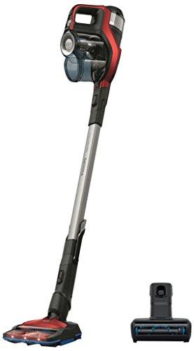 Philips Speedpro Max FC6823/01 Aspirapolvere Senza Fili 360°, Batteria 25 V, 65 Minuti di Autonomia, Mini Spazzola Turbopet, Accessori Integrati, Rosso