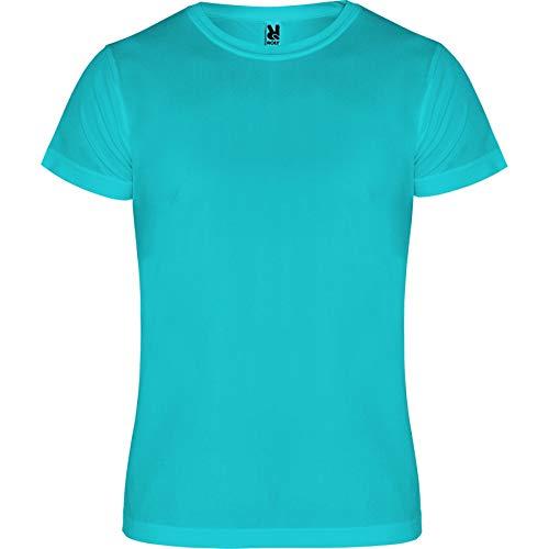 ROLY Camiseta Camimera 0450 Hombre Turquesa 12 XL