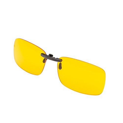 Prospek - Hochwertige Computer Brillen - Elite Clip On - Brillen Clip - Blaulicht- und Blendschutz