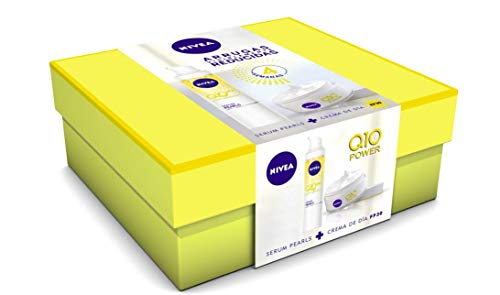 NIVEA Pack Q10 Power Crema Dia FP30 y Serum Pearls - Cofre