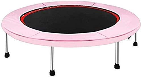 Cama elevación Rebote trampolín de Fitness en casa Puede soportar el Uso sostenible de Aproximadamente 150 kg de Espacio para la Sala de Estar Parque de Atracciones Gimnasio Jardín
