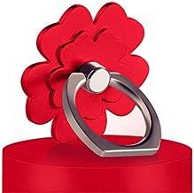 Telefoon Ring Beugel Universele Lucky Clover 360 Graden Rotatie Metalen Vinger Ring Telefoonhouder Het kan worden gebruikt...