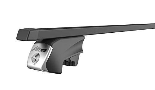 Atera 048422 RTD Träger aus verzinktem Stahlrohr, Kunststoffüberzug, Vierkant Tragrohr, Profil: 32 x 22 mm, schwarz