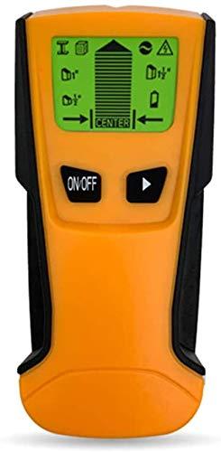 Fastobuy Leitungssucher Ortungsgerät,Multifunktions Wand Scanner Detektor mit LCD-Anzeige und Audioalarm, für Stromleitung, Metall,Bolzenerkennung