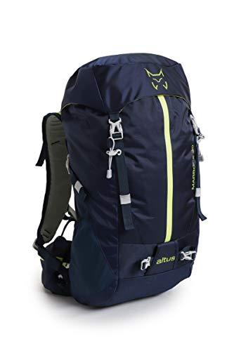 ALTUS - Mochila Trekking Marbore 30L | Mochila para Montañismo, Trekking, Camping, Viajes | Ideal Recorridos Técnicos, Tejido Ligero y Resistente | Con Sistema de Ventilación