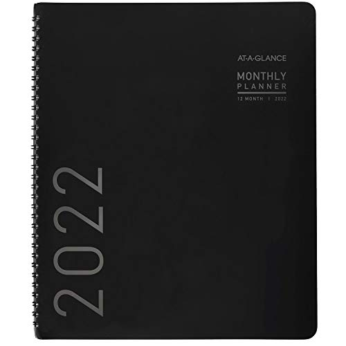 """2022 Monthly Planner by AT-A-GLANCE, 9"""" x 11"""", Large, Includes..."""