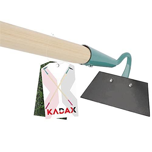 KADAX Hacke, Gartenhacke für Damen, gehärtete Hacke zum Entfernen von Unkraut, Unkrauthacke zum Auflockern des Bodens, Gartenzubehör zum lüften und...