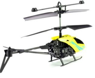 MJ901 2.5CH Mini Infrared RC Helicopter Kids Toy (Yellow) by toyforyoustore