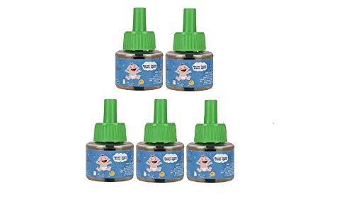 Shadow Securitronics Lemon Eucalyptus Oil Based Mosquito Vaporizer, 45 ml - Pack of 5