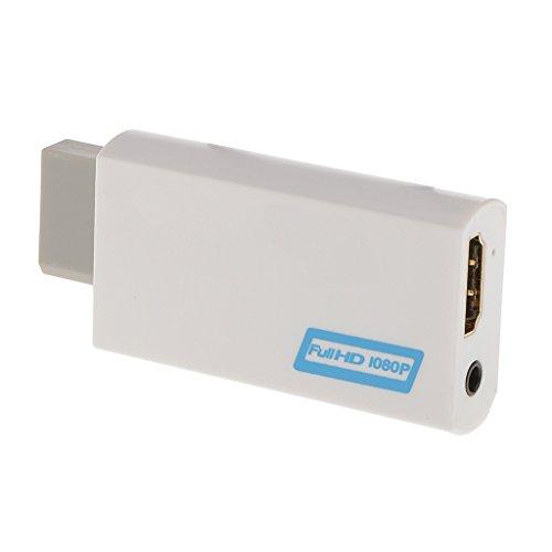 Adaptador Convertidor de Ampliación HD Completo Wii al HDMI 1080P...