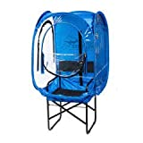 Under the Weather ChairPod 1 Person Sports Tent for Scooters and Soccer Chairs The Original, Patented WeatherPod - Royal
