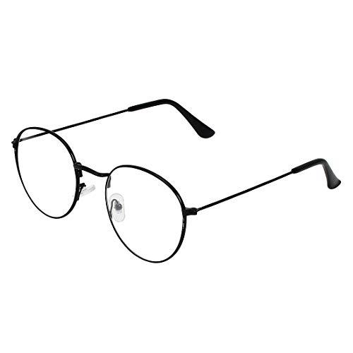 Zyaden Black Round Unisex Eyewear Frame 624