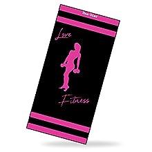 Hee-Star Toalla Gimnasio Mujer - Toalla de Microfibra Ideal para Fitness - Toalla Deporte de Secado Rapido y Ultraligera - Accesorios Gimnasio Mujer