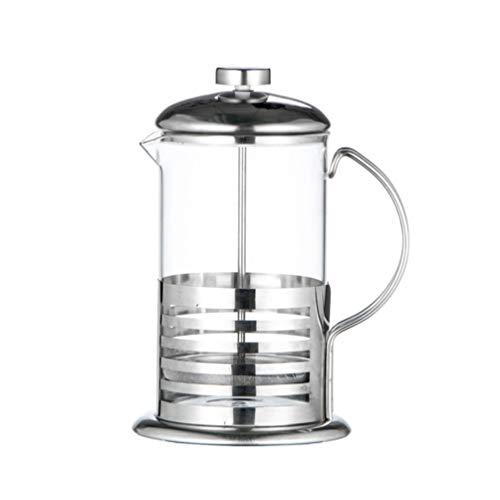 UPKOCH Kaffeebereiter mit Edelstahl Filter Kaffeezubereiter Presskanne Französische Kaffeepresse für Kaffee oder Tee Espresso