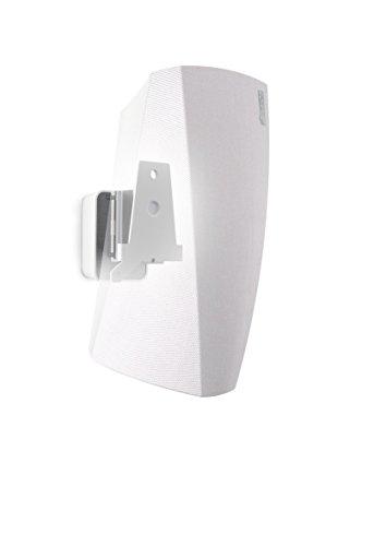 Vogel's SOUND 5203 Blanc, Support Mural Réglable pour Enceinte Denon HEOS 3, Inclinable 30º et Orientable 70º