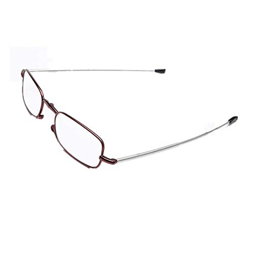 Titanium anti-fatiga plegable para leer bolsillo lector de ojo
