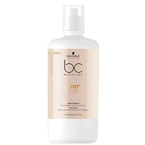 Schwarzkopf Professional BONACURE Q10 Time Restore Ageless Taming Treatment, 750 ml