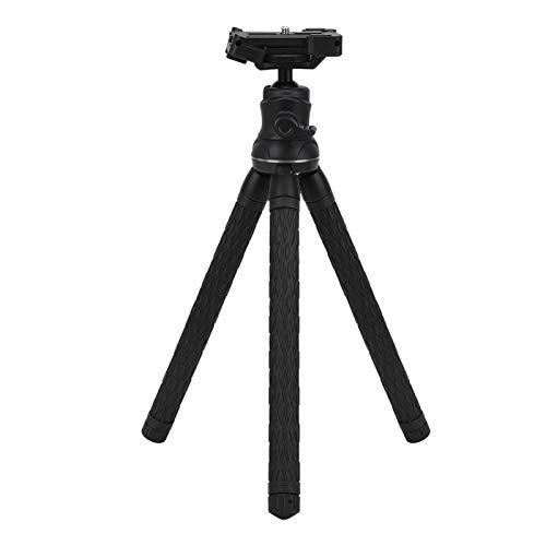Andraw Trípode Extensible con Soporte para cámara, trípode Multifuncional de Nuevo diseño para fotógrafos Viajes con cámara al Aire Libre