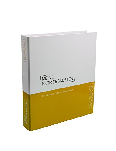 Themenringbuch mit Register/Trennblättern - Betriebskosten - Optimale Struktur für die Ablage der Betriebs- und Nebenkostenunterlagen