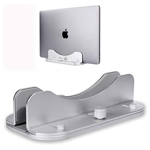 LXLX-Computer standLaptop Stand Kan worden aangepast Regenboog Verticale Apple Laptop Opslag Beugel Aluminium Beugel ZILVER