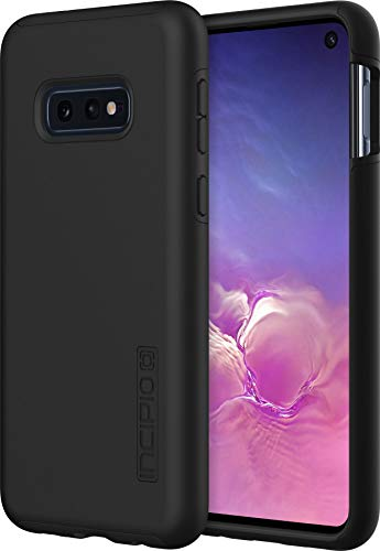 Incipio DualPro Dual-Layer Case for Samsung Galaxy S10e with Hybrid Shock-Absorbing Drop-Protection - Black/Black
