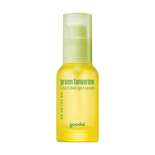 Goodal Green Tangerine Vitamin C Dark Spot Facial Serum for Sensitive Skin | Brightening, Dark Spot Treatment, Anti-Aging, Acne Scars, Fine Lines, Hyperpigmentation, and Dark Circles (1.0 fl oz)