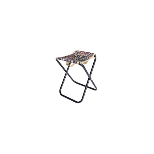 XIAOLVSHANGHANG HHCS Loisirs en Plein Air Chaise Pliante Chaise De Pêche Portable Pliant Tabouret Mini Petit Épais Mazar Chaise Chaise de Plage (30 * 24 * 26 cm) Chaises et tabourets (Couleur : B)