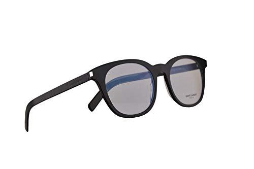 Saint Laurent SL289 - Gafas de sol (lente transparente, 51-20-145, color negro con lente transparente 004 SL 289)