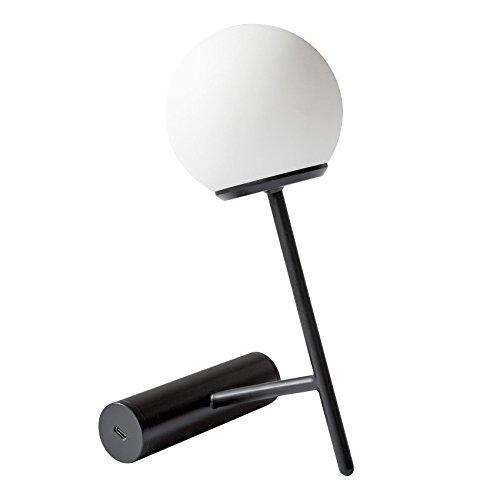Menu Phare LED Tischleuchte mit Akku, schwarz BxHxT 13x23x13,5cm